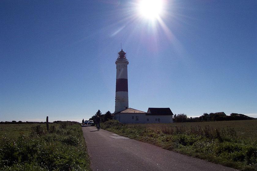 Einer der Leuchttürme von Kampen