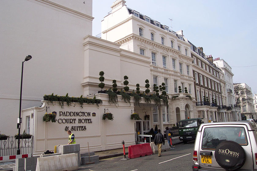 Unser Hotel in London