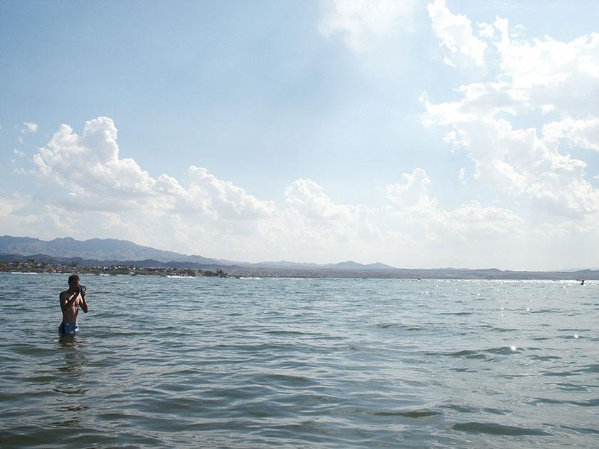 Gunnar im Lake Havasu
