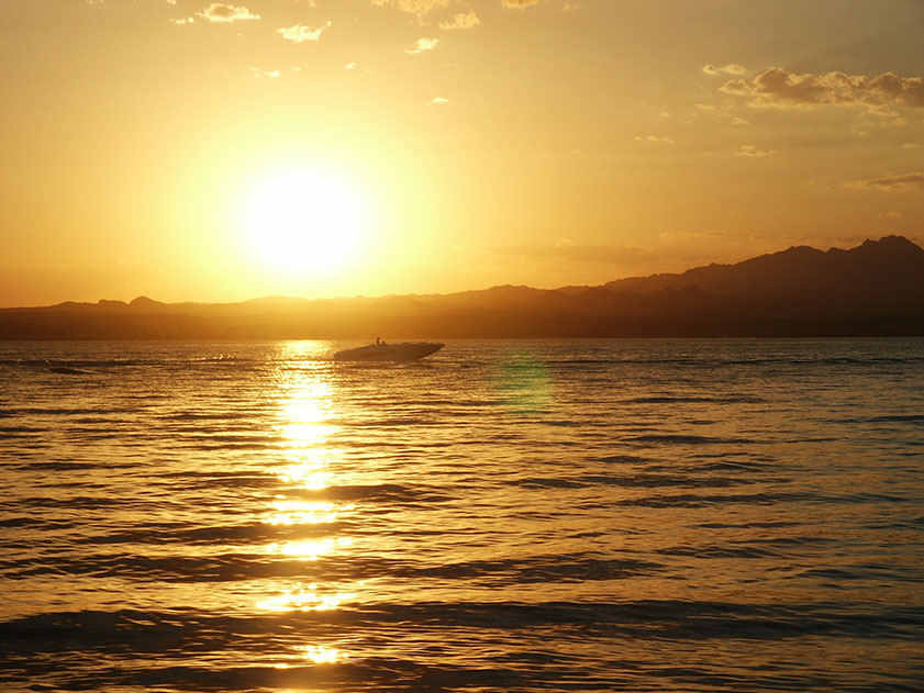 Sonnenuntergang amLake Havasu