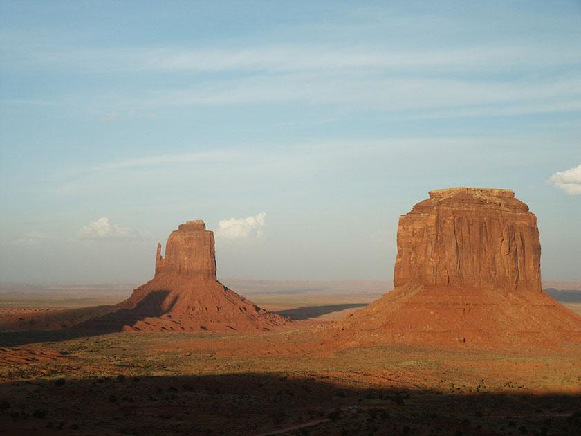 Sonnenuntergang im  Monument Valley