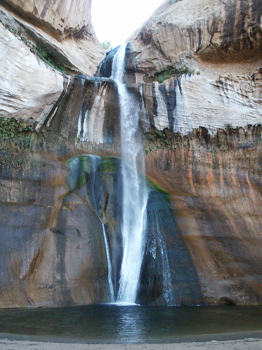 Die Calf Creek Lower Falls