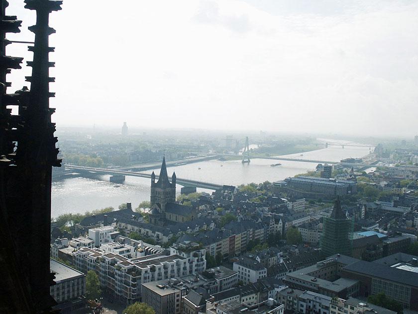 Blick vom Kölner Dom