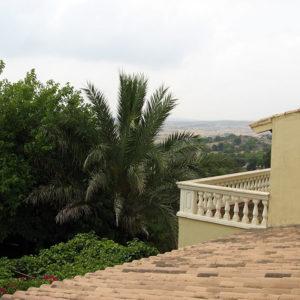 Blick von unserer kleinen Terrasse