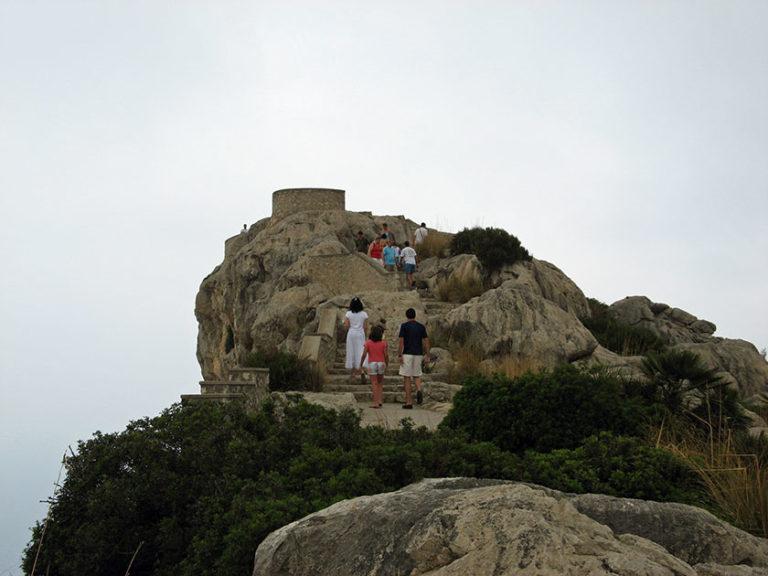 Aussichtspunkt auf dem Weg zum Cap de Formentor