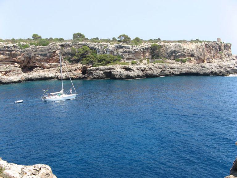 Die Bucht von Cala Figuera. Traumhaft schön.