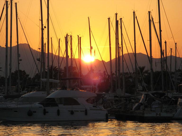 Sunset im Port d'Alcudia