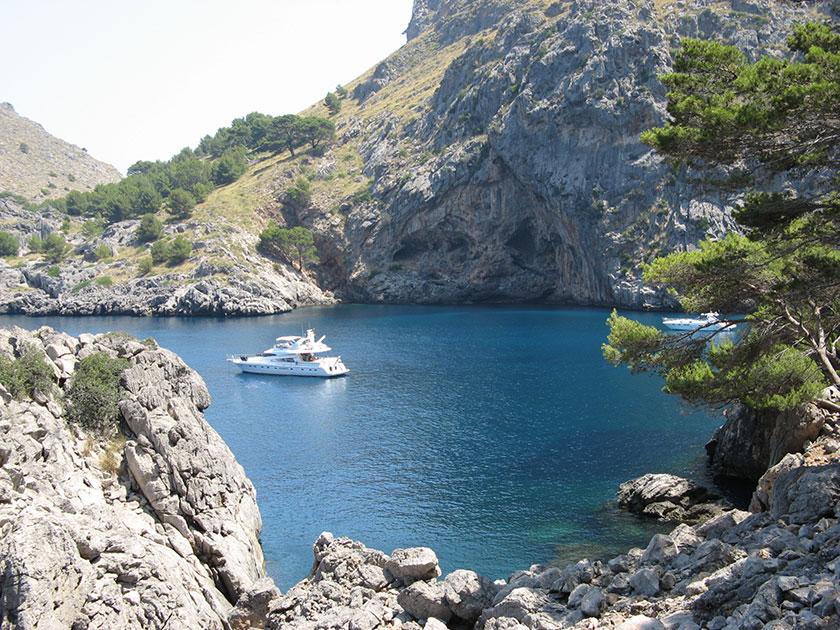 Die Bucht von Torrent de Pareis