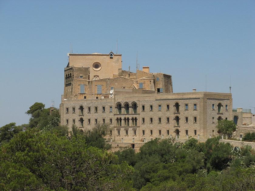 Das Kloster Santuari Sant Salvador