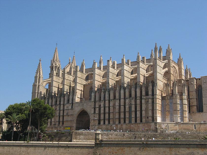 Die Catedral La Seu in Palma