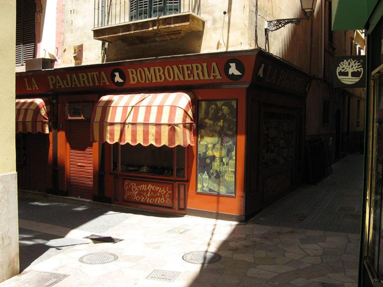 Dieser Bonbon-Laden findet sich in jedem Reiseführer von Palma