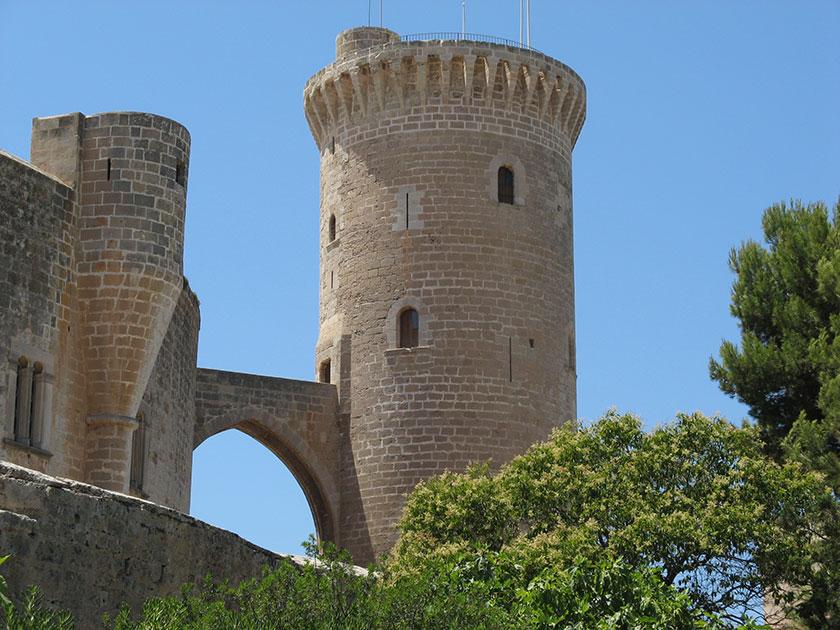 Das Castell de Bellver in Palma