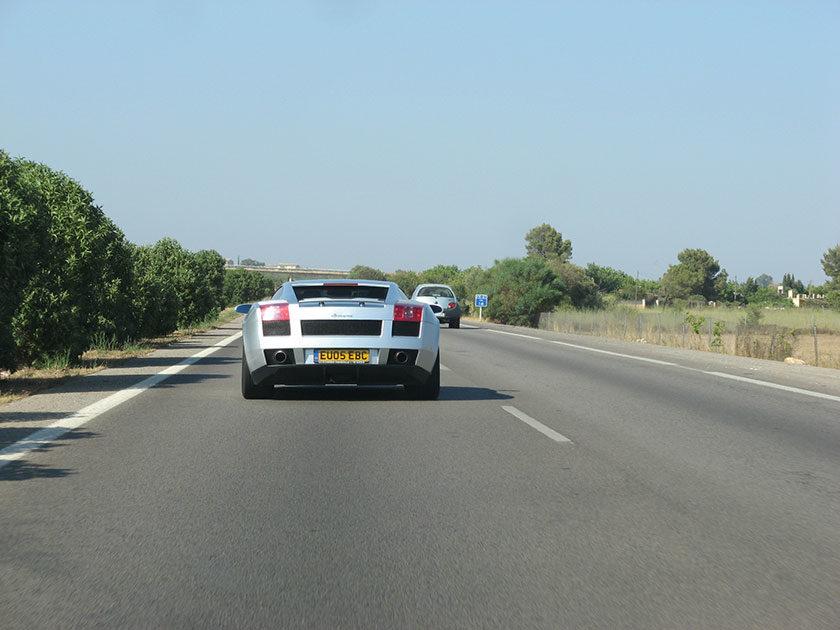 Dickes Rohr: Lamborghini Murcielago