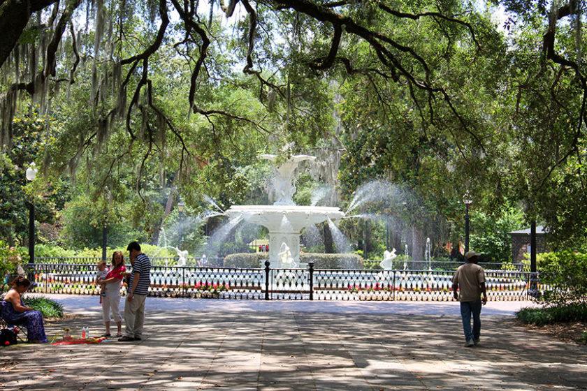 Springbrunnen im Forsyth Park