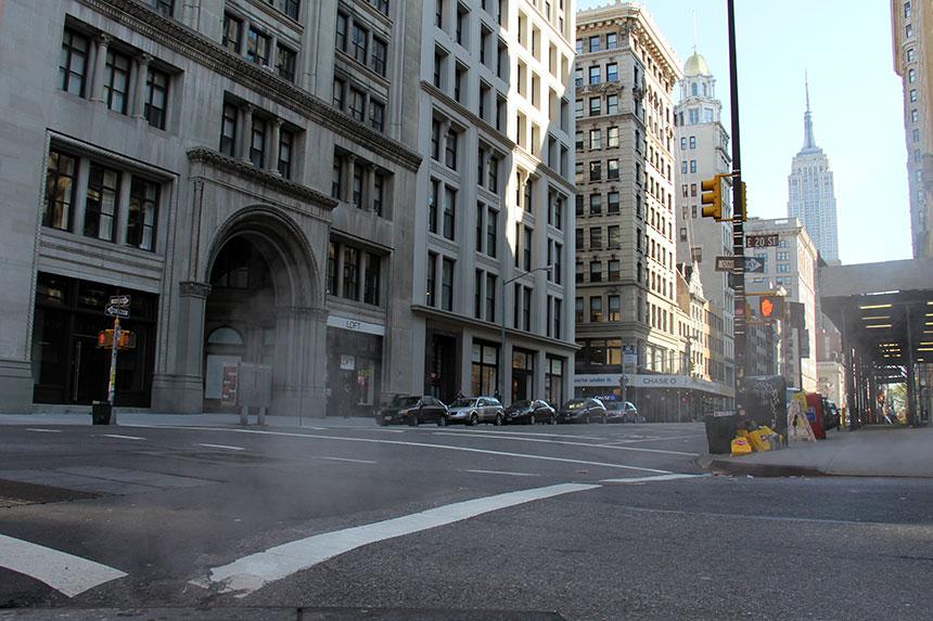 In den Straßen Manhattans