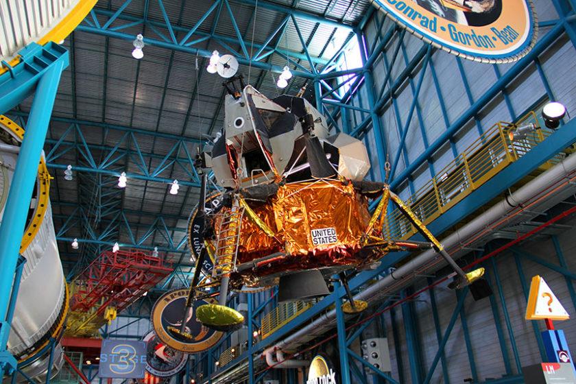 Die Ausstellung im Space Center