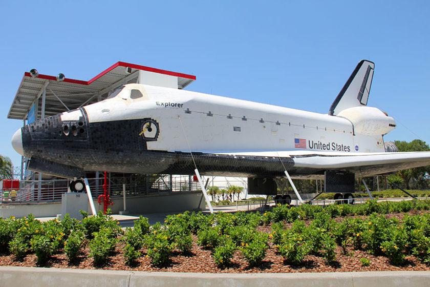 Ein echtes Space Shuttle