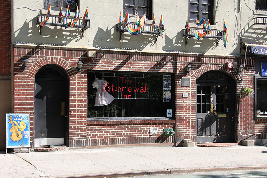Greenwich Village - Das Stonewall Inn in der Christopher Street