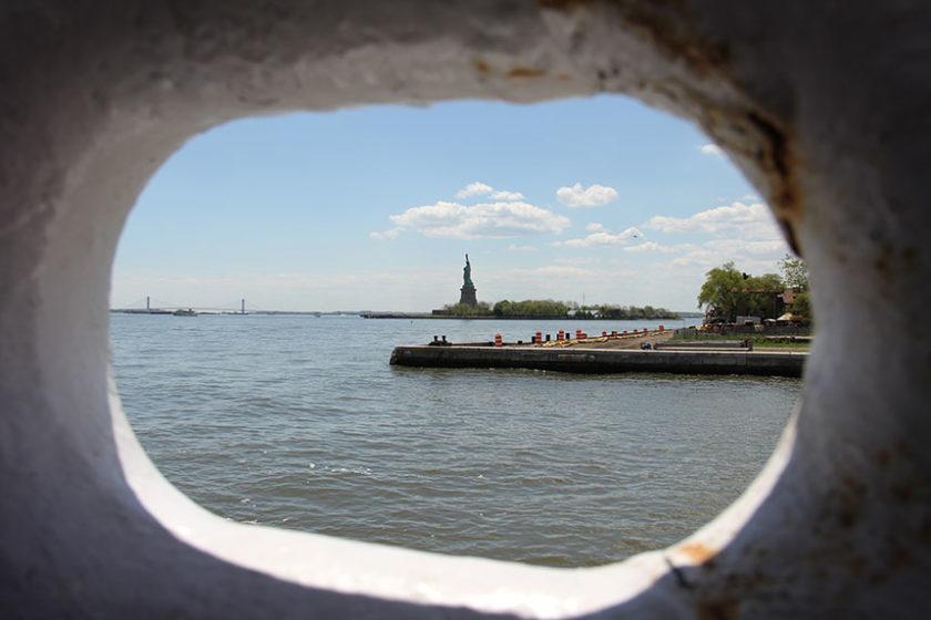 Liberty Island mit Freiheitsstatue