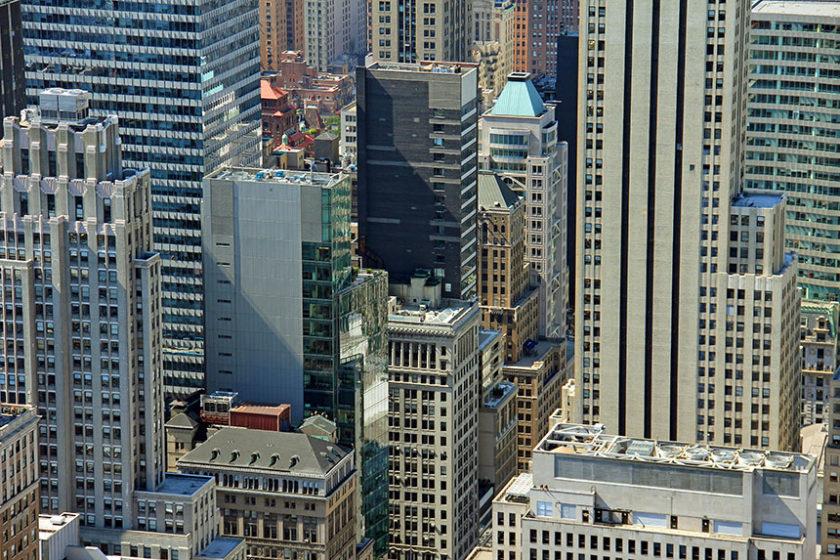 Auf dem Rockefeller Center