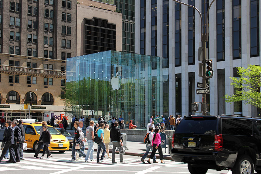 DER Apple Store in der 5th Ave.