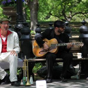 Musiker im Central Park