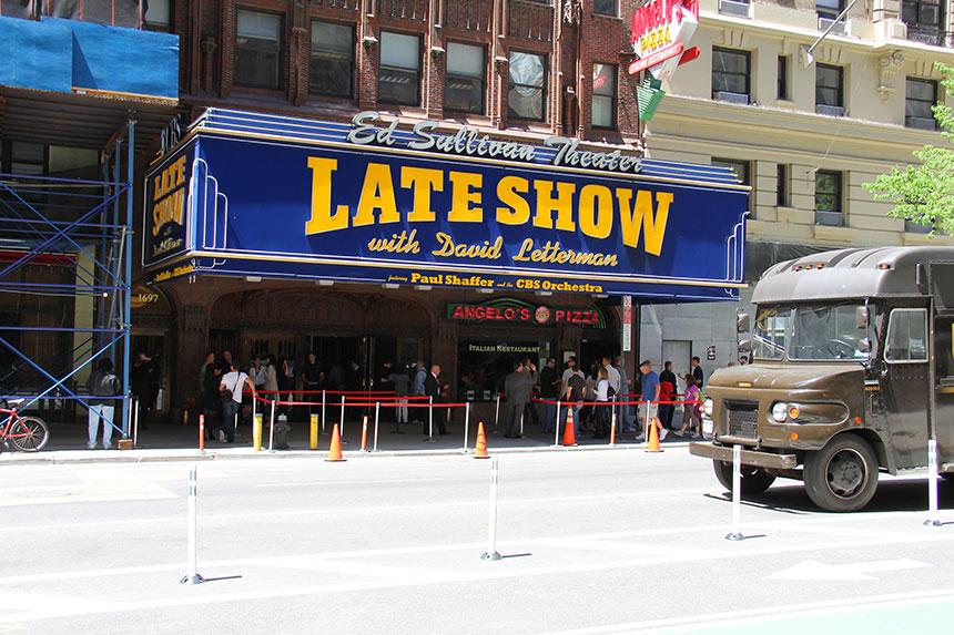 Broadway am Tag