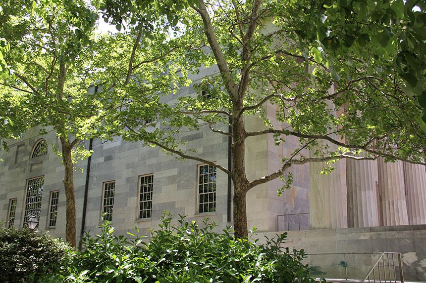 Der historische Stadkern Philadelphias
