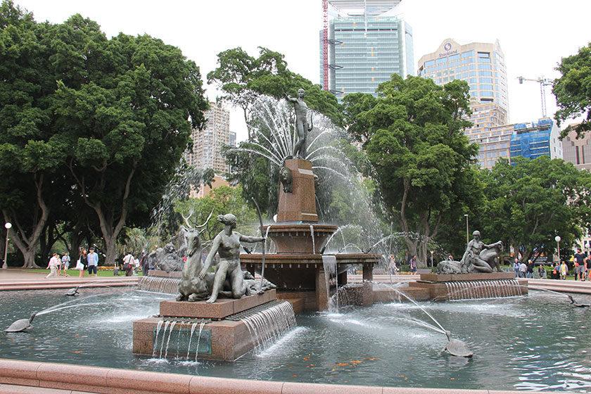 Sir Archibald Fountain im Hyde Park