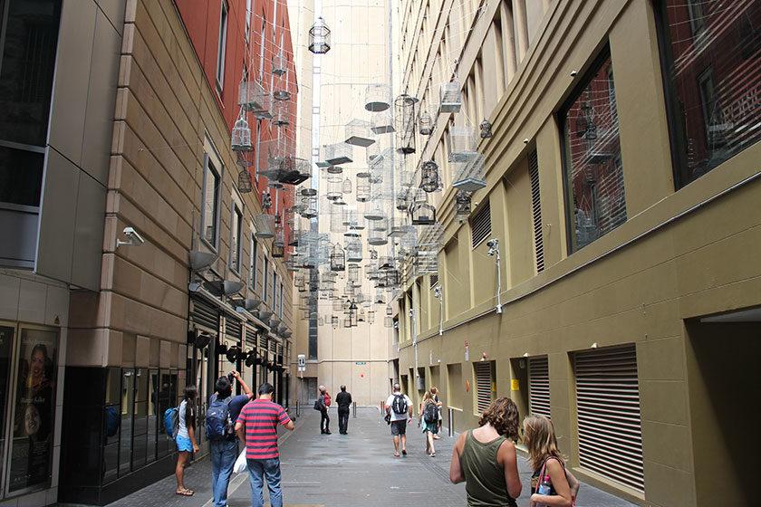 Installation Forgotten Songs in Sydney