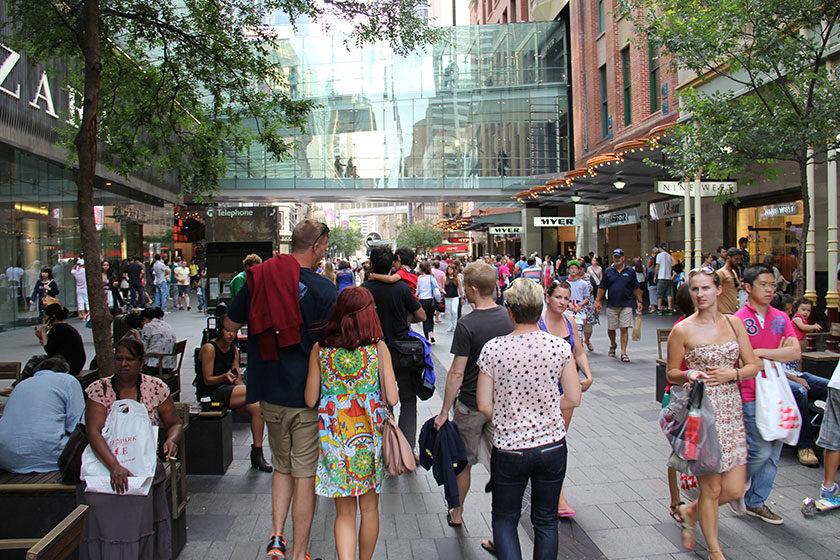 Verkaufsoffener Sonntag in Sydney