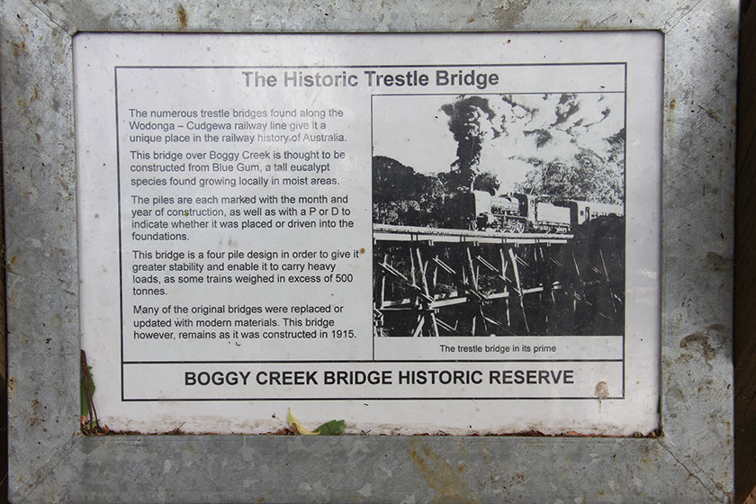 Boggy Creek Bridge