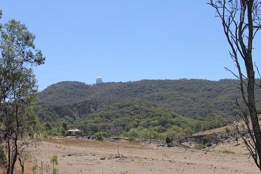 Das Siding-Spring-Observatorium