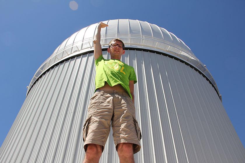 Das Siding-Spring-Observatorium Ist sehr groß