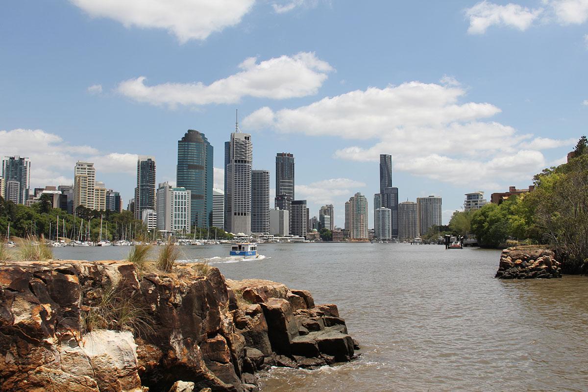 Brisbanes beeindruckende Skyline