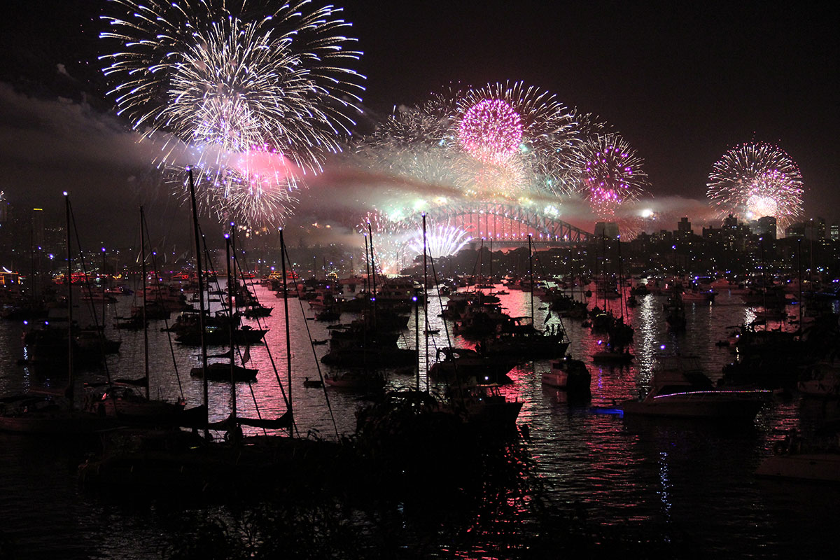 Sydney New Years Eve 2012/2013