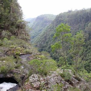 Die Ellenborogh Falls