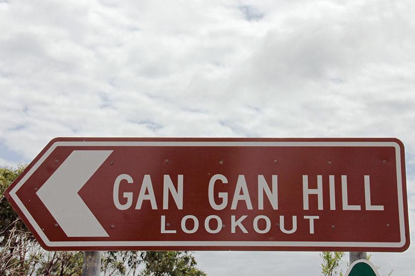 Gan Gan Hill in Port Stephens