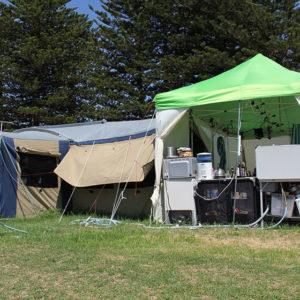 So campen Australier