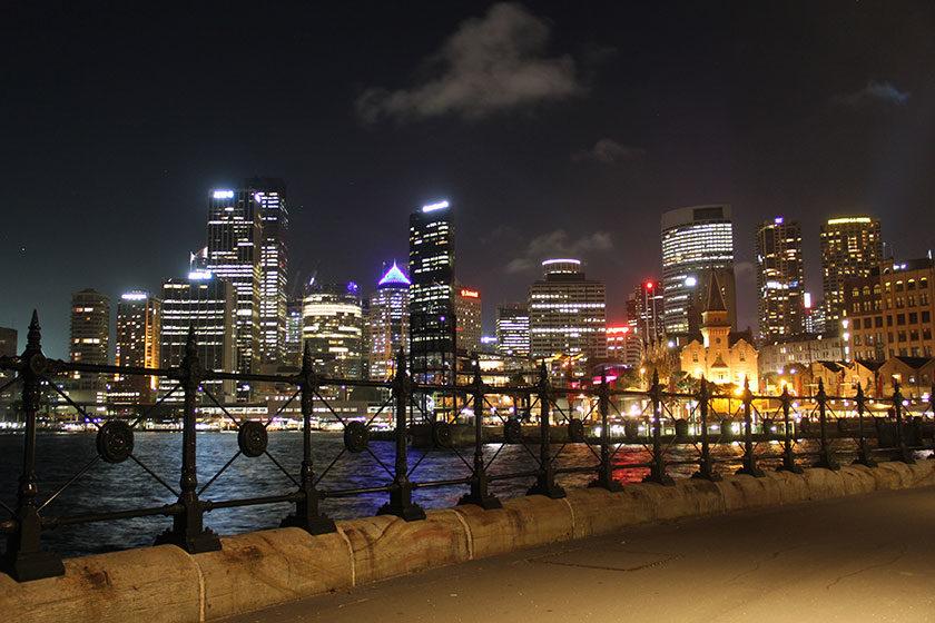 Sydney bei Nacht
