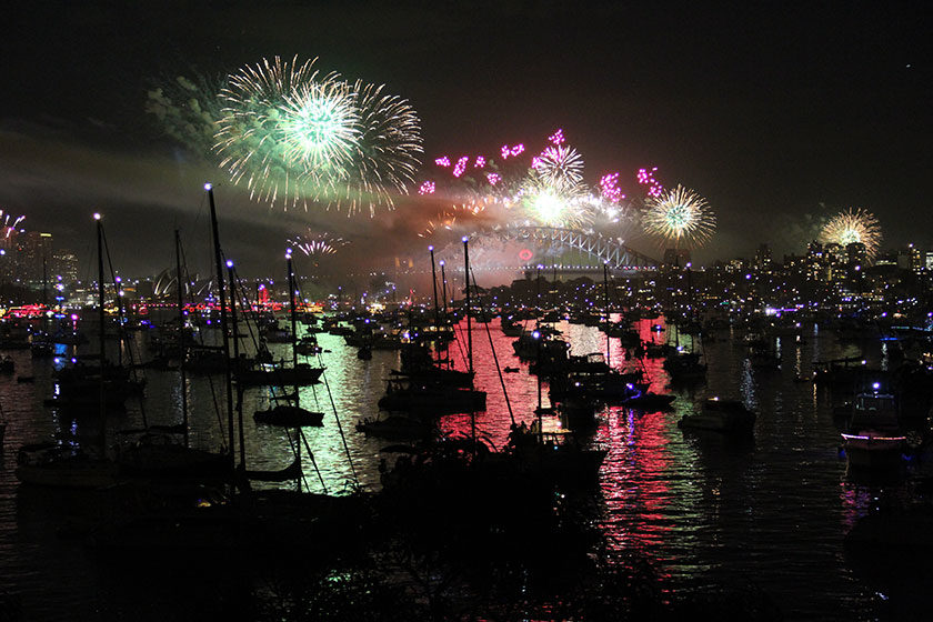Sydney New Years Eve 2012/2013