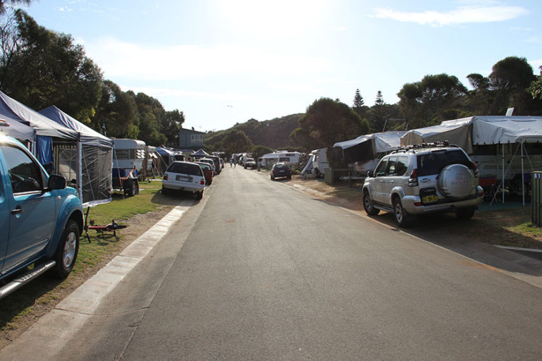 Campen in Port Campbell