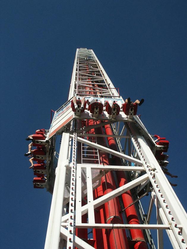 Der Big Shot auf dem Stratosphere Tower