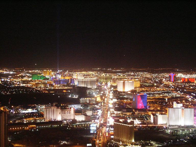Nächtliches Las Vegas