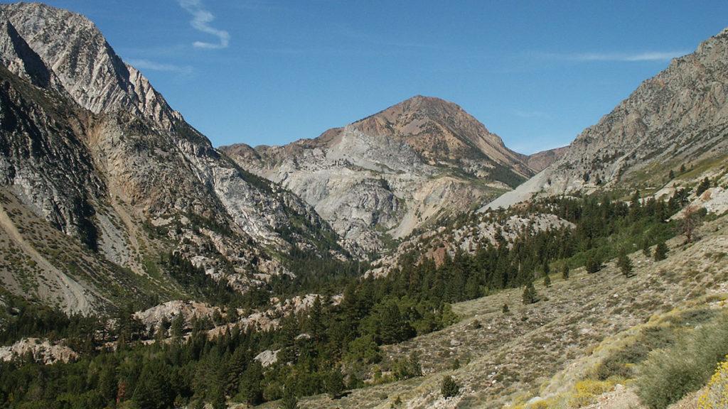 Auf dem Weg zum Yosemite N.P.