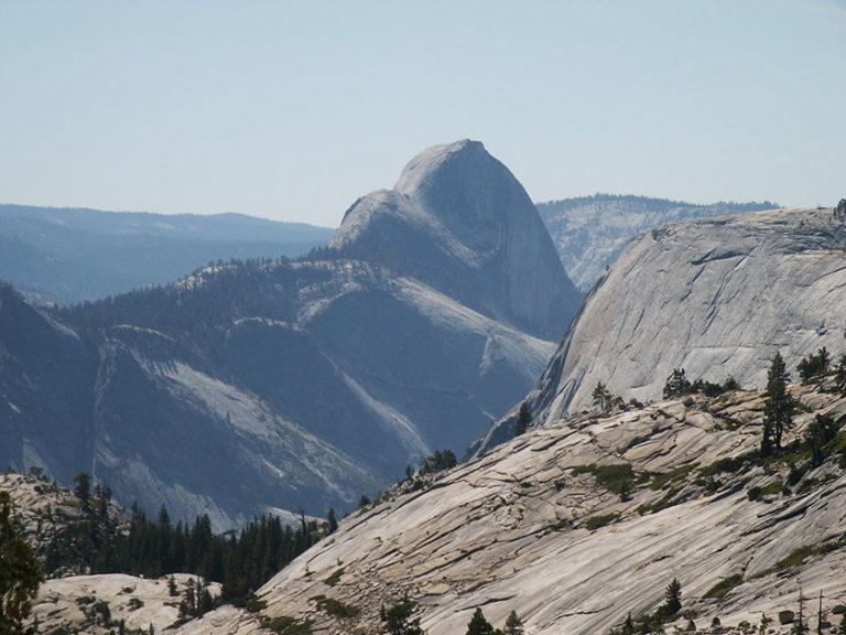 Viel Granitgestein