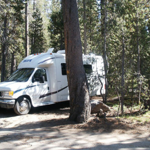 Unser Stellplatz am White Wolf Campground
