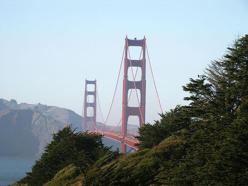 Das Wahrzeichen San Franciscos