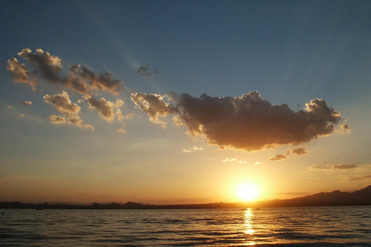 Sonnenuntergang am Lake Havasu
