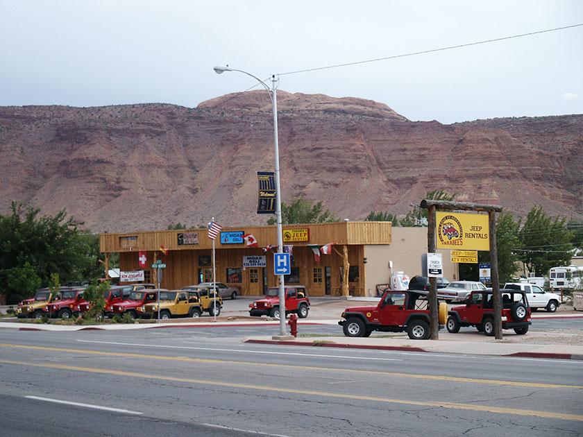 Moab Farabee's Jeep Rental